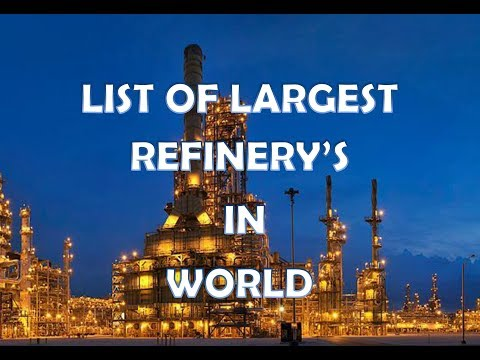 World's largest Refineries | Piping
