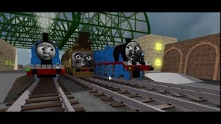 Roblox TATMR Clip Diesel 10 Rushes Through The Station Roblox Cool Beans Railway 3