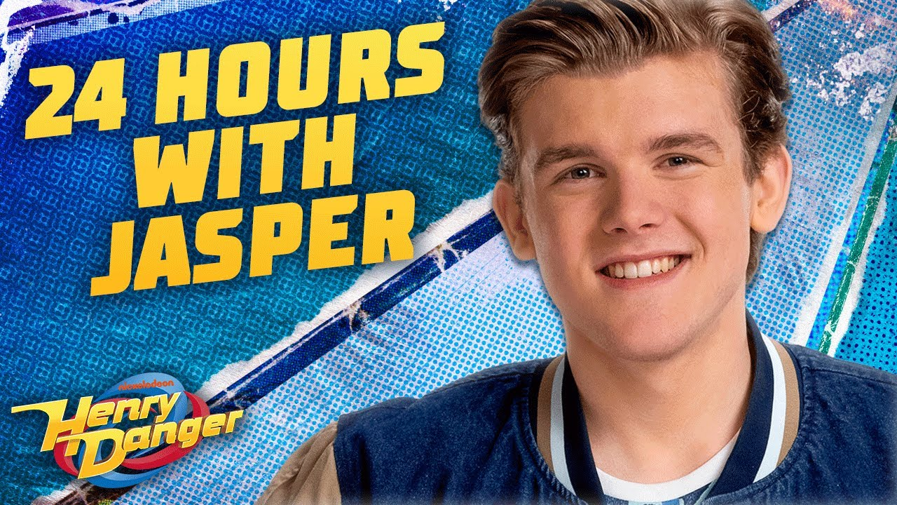 24 Hours With Jasper Dunlop ⏰ (Day In The Life)   Henry Danger