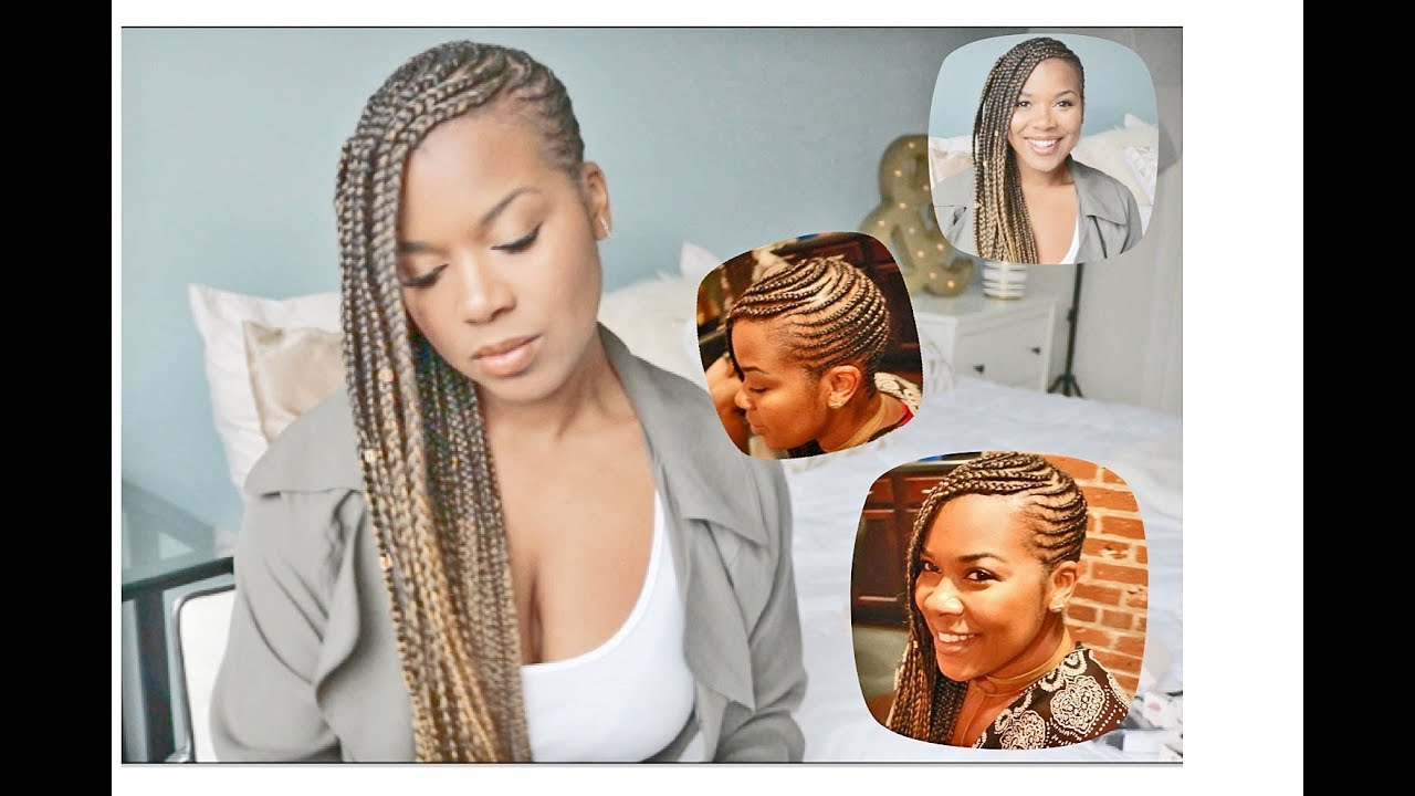Lemonade Braids Hair Style My Hair Salon Experience