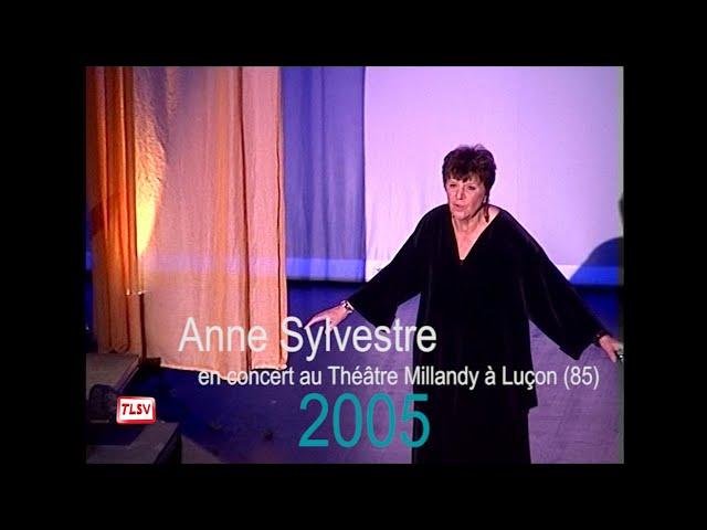 Luçon : hommage à la chanteuse Anne Sylvestre