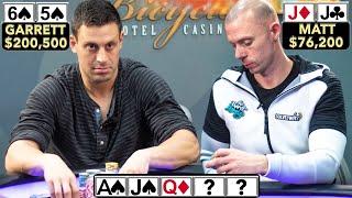 Garrett Adelstein Puts Matt Berkey to the Test in Million Dollar Cash Game ♠ Live at the Bike!