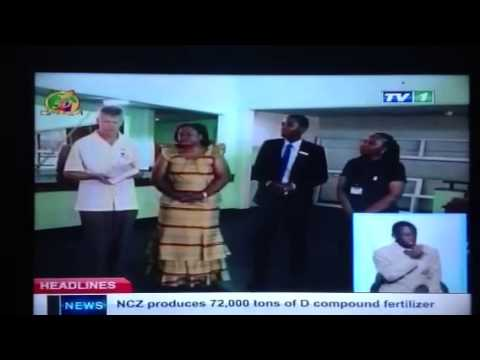 ZNBC TV reports Books for Africa shipment to University of Zambia