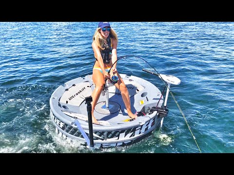SHARK FISHING FREAK OUT Attack ft. Lexis Chancey of Chew On This