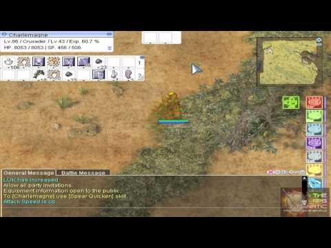 Ragnarok Online Renewal Video Guide: Hunting Kobolds, Hill Winds and Desert Wolves