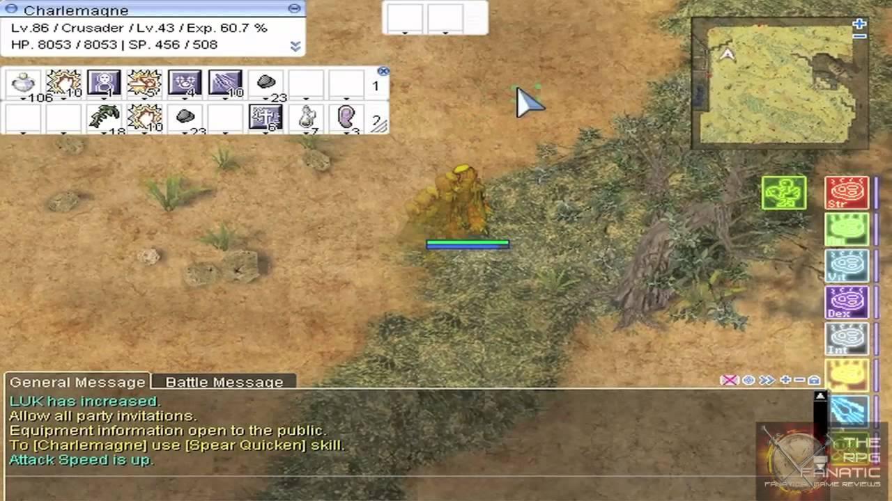 Ragnarok Online Renewal Video Guide: Hunting Kobolds, Hill Winds