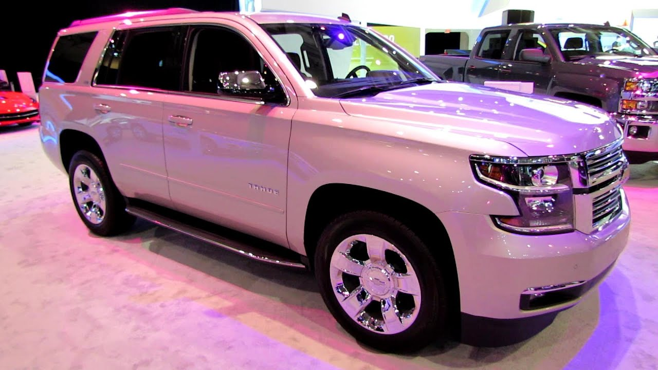 2015 Chevrolet Tahoe LTZ   Exterior And Interior Walkaround   2014 Toronto  Auto Show   YouTube