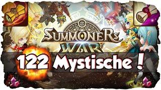Summoners War: 122 Mystische Schriftrollen + 1 Licht & Dunkelheit-Schriftrolle *Part 2* (Deutsch)