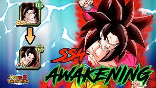 SS4 GOKU FULL POWER AWAKENING!! WAS HE WORTH SUMMONING FOR?! | DRAGON BALL Z DOKKAN BATTLE