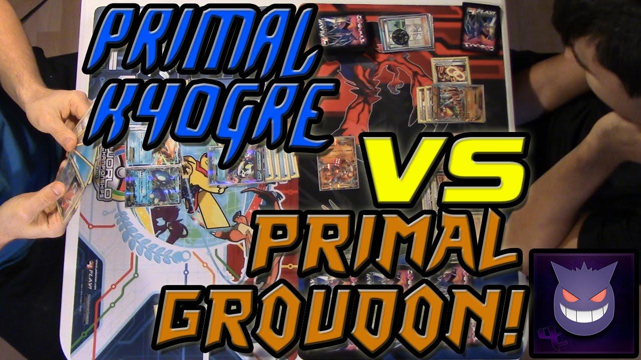 Primal Kyogre Vs Primal Groudon primal kyogre vs. primal groudon | pokemon trading card game