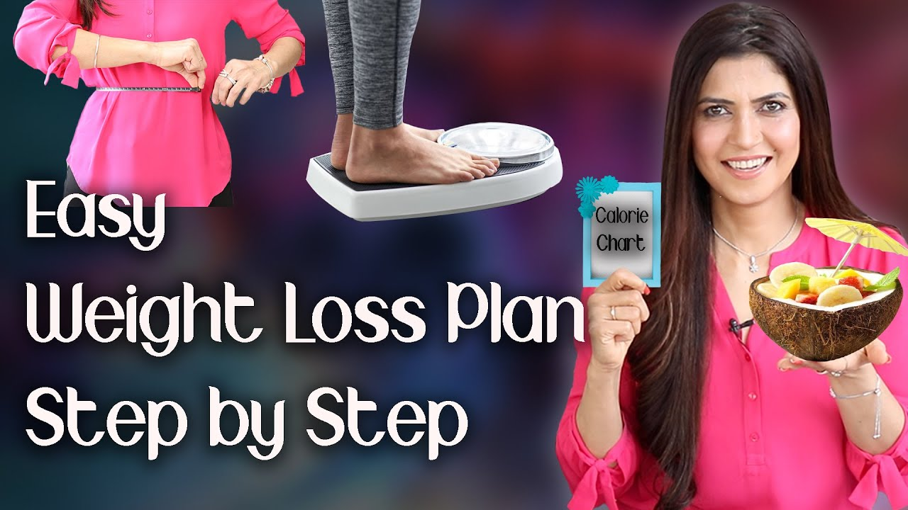 Easy Weight Loss Plan Step by Step  – Ghazal Siddique