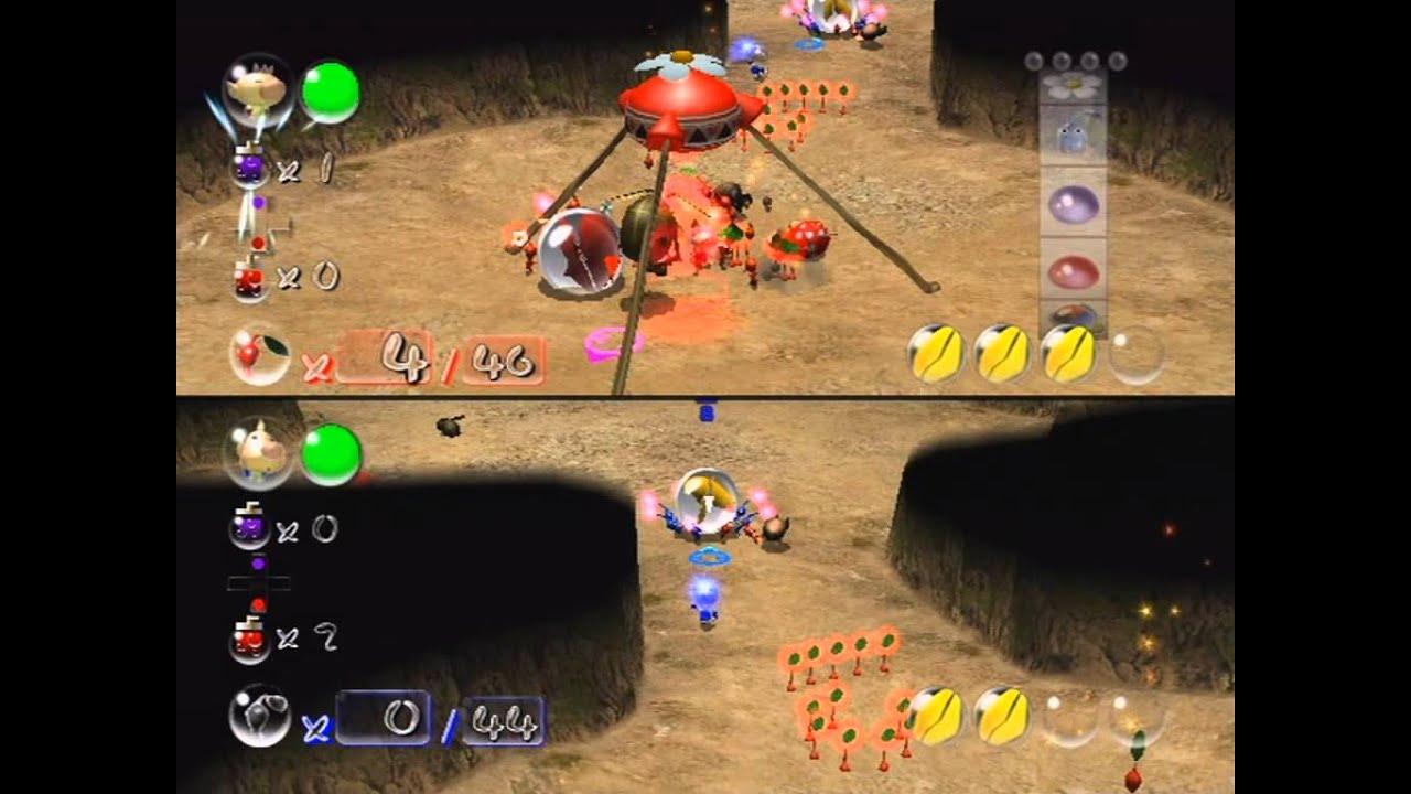 Pikmin 2 Battle Battle Field Youtube