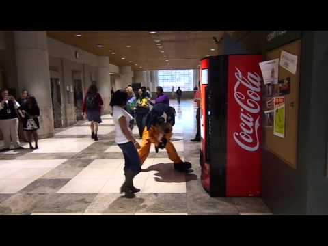 The University Of Tennessee Coca-Cola Happiness Vending Machine