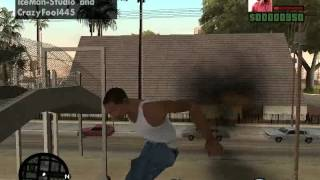 GTA San Andreas: Ultimate Spider-Man v3.0 test