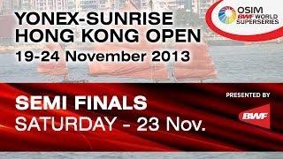 SF - WD - Ou DN. /Tang YT. vs. C. Pedersen / K. Rytter Juhl - 2013 Hong Kong Open