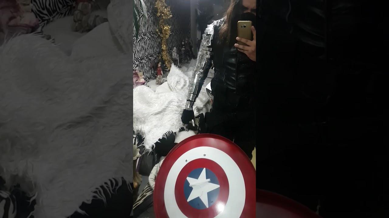 Winter Soldier Cosplay halloween - Vibranium Arm