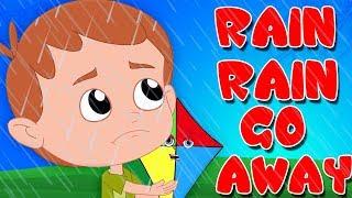 дождь дождь уходи   песня дождя для детей   дождливые песни   Rain Rain Go Away   Song For Kids