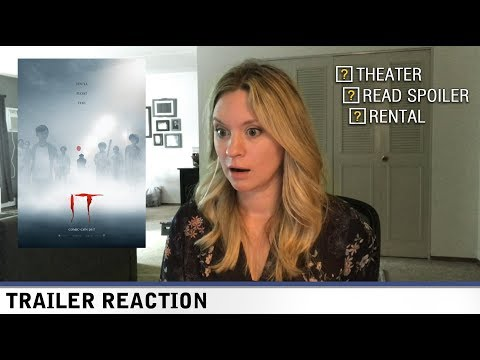 IT Trailer #2 - TRAILER REACTION