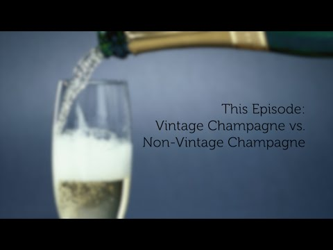 Keeper Collection #LifeTastings Videos - Champagne: Vintage and Non-Vintage Champagne