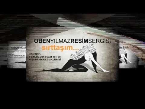 """Oben Yılmaz """" sırttaşım... """" Resim Sergisi 6-15 Eylül 2014 Nişart Sanat Galerisi"""