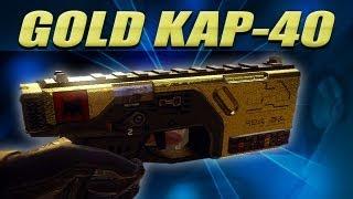 gold kap 40 pistol black ops 2 trevors road to diamond pistols