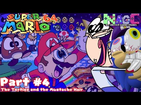 The Tortoise and the Mustache Hair | Super Mario 64 #4