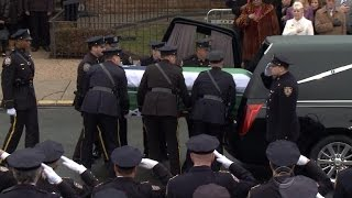 Thousands attend funeral for NYPD Detective Wenjian Liu