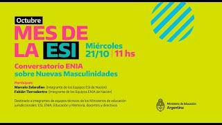 Conversatorio ENIA Sobre Nuevas Masculinidades