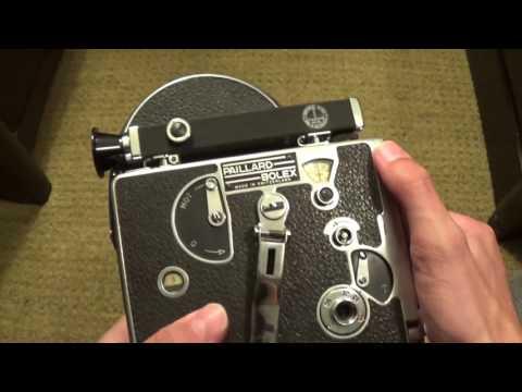 Bolex H16 Non Reflex Movie Camera (16mm Film)