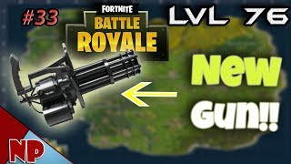 FORTNITE Fridays: Mini Gun Update And Fixing Zoom Glitch | Road To 100 Wins | LVL 76