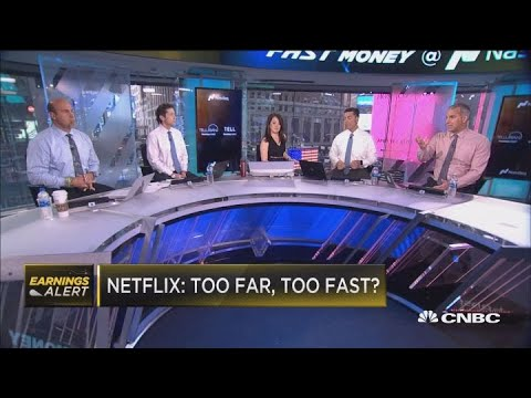 Here's why Netflix is falling after its earnings report