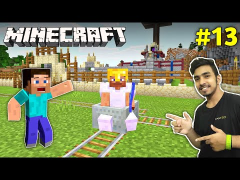 IT'S TIME TO MAKE RAIL | MINECRAFT GAMEPLAY #13