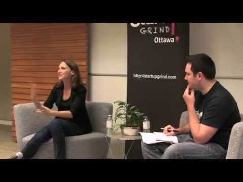 April Dunford (Tulip Retail) at Startup Grind Ottawa
