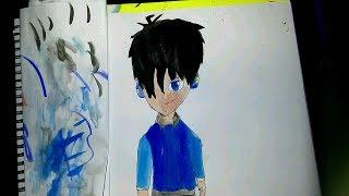 Drawing netrick pw[anime version]