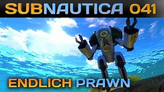 🌊 SUBNAUTICA [041] [Endlich Prawn] Let's Play Gameplay Deutsch German thumbnail