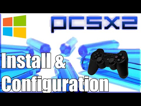 How To Connect PlayStation 3 Controller Wired/Wireless To PCSX2 Windows (PlayStation 2 Emulation)