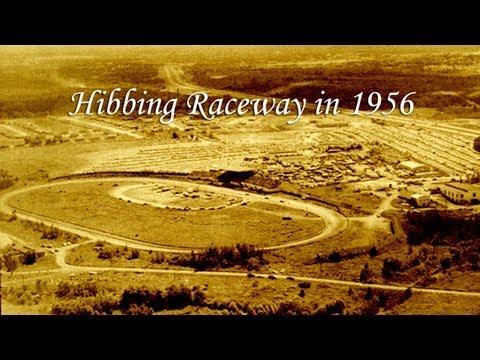 Hibbing Raceway in 1956
