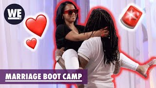 Waka & Tammy Reveal Their Secret Position 🤠| Marriage Boot Camp: Hip Hop Edition