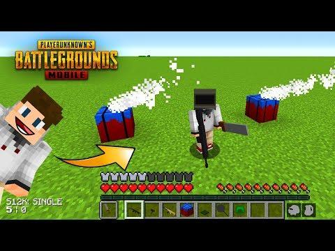 PUBG MOBİLE MODU - Minecraft Mod