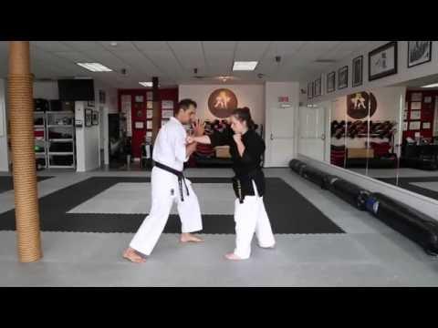 Karate KCRD - renzuko uchi-uke drills