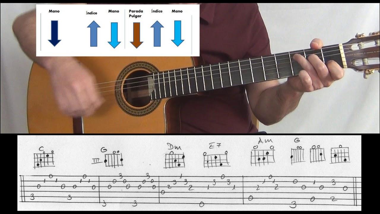 Todo Cambia Guitarra Tutorial Como Tocar Youtube