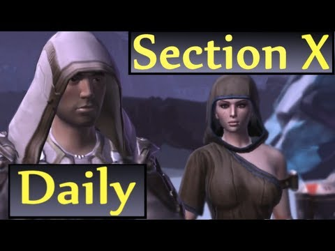 Belsavis: Section X Daily Quests Guide (SWTOR Republic Side)