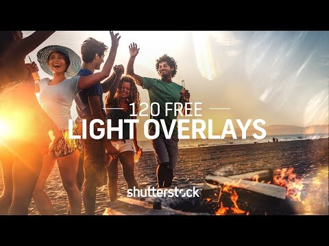 120 Free Light Overlays for Photographers and Designers | Shutterstock
