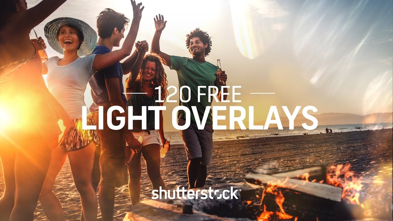 120 FREE Light Overlays for Photographers and Designers