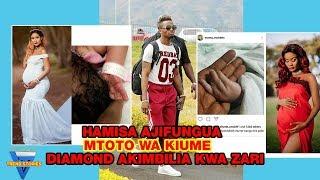 HAMISA MOBETO Ajifungua MTOTO WA KIUME DIAMOND PLATNUMZ Akimbia Ajificha Kwa ZARI THE BOSS LADY