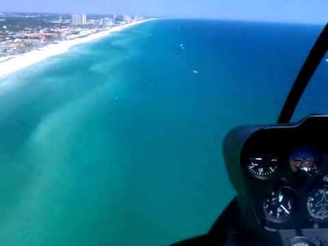 Helicopter Ride Over Destin With My Kids  YouTube