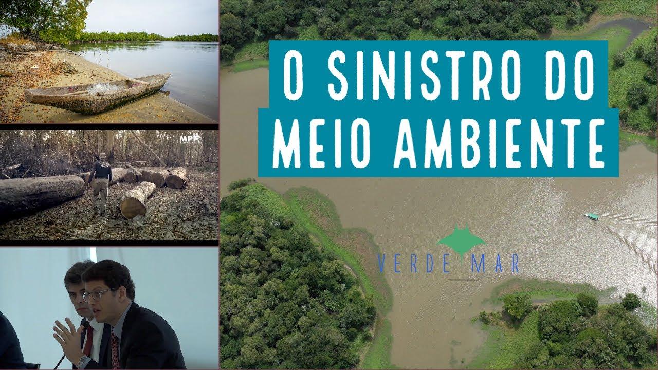 O Sinistro do Meio Ambiente escancara interesse em destruir o patrimônio natural do país
