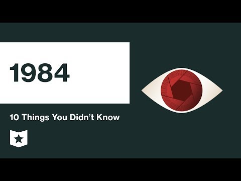 1984 by George Orwell | 10 Things You Didn't Know
