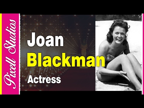 Joan Blackman An American Hollywood Actress  Biography  PIxell Studios