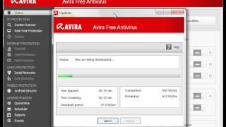 Avira Antivirus Free Update Fail